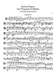 Vollständiger Oper: Fagottstimme by Richard Wagner