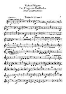 Vollständiger Oper: Trompetenstimmen by Richard Wagner