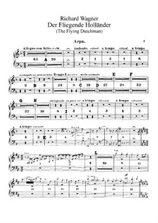 Vollständiger Oper: Harfestimme by Richard Wagner