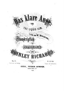 Transcription of Popular Melodies: Das klare Auge, Op.78 by Brinley Richards