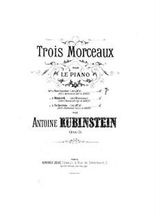 Drei Stücke, Op.71: Nr.1 Nocturne by Anton Rubinstein