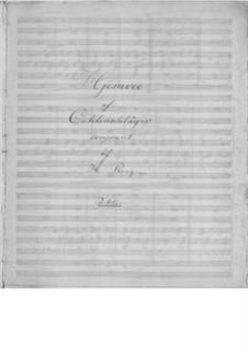 Hjemvee: Für Stimme, Streicher und Harfe by Henrik Rung