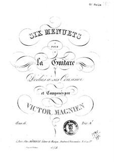 Sechs Menuette, Op.16: Sechs Menuette by Victor Magnien