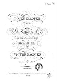 Zwölf Galoppe, Op.23: Zwölf Galoppe by Victor Magnien