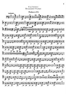 Ouvertüre: Paukenstimme by Franz Schubert
