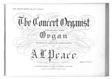 Rondo für Klavier, vierhändig in A-Dur, D.951 Op.107: Bearbeitung für Orgel by Franz Schubert
