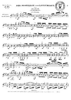Der Postillon von Lonjumeaux: Der Postillon von Lonjumeaux by Adolphe Adam