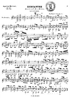 Fragmente: Für Gitarre by Carl Maria von Weber
