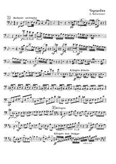 Die Zauberin, TH 9: Solo aus Kontrabassstimme by Pjotr Tschaikowski
