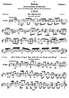 Kukuk. Musikalische Rundschau: Heft V by Johann Kaspar Mertz