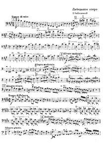 Vollständiger Ballett: Solo aus Kontrabassstimme by Pjotr Tschaikowski