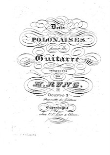 Two Polonaises, Op.2: Two Polonaises by Henrik Rung