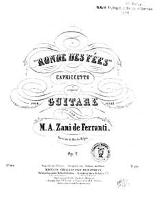 Ronde des Fées. Capriccetto, Op.2: Für Gitarre by Marco Aurelio Zani de Ferranti