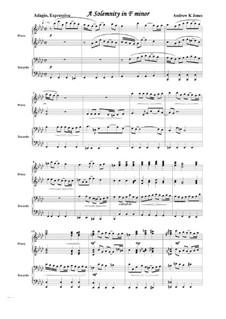 Piano Duet No.10: A Solemnity in F Minor: Piano Duet No.10: A Solemnity in F Minor by Andrew Jones