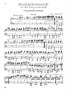 Hochzeitsmarsch: Für Klavier, vierhändig by Felix Mendelssohn-Bartholdy