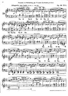 Mazurkas, Op.30: Nr.1-2 by Frédéric Chopin