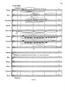 Die Heimkehr aus der Fremde, Op.89: Nr.13-14 by Felix Mendelssohn-Bartholdy