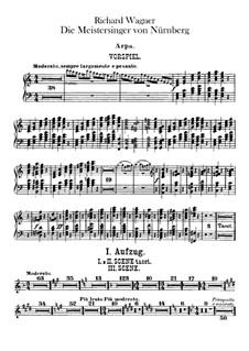 Vollständiger Oper: Harfe- und Orgelstimmen by Richard Wagner