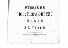 Ouvertüre: Für Orgel by Carl Maria von Weber