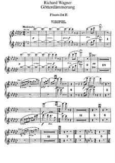 Götterdämmerung, WWV 86d: Flötenstimme by Richard Wagner