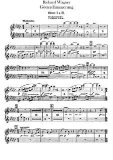 Götterdämmerung, WWV 86d: Oboenstimmen I, II by Richard Wagner