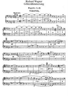 Götterdämmerung, WWV 86d: Fagottstimmen I, II by Richard Wagner
