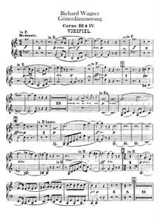 Götterdämmerung, WWV 86d: Hornstimmen III, IV by Richard Wagner