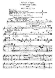 Vollständiger Oper: Harfenstimme by Richard Wagner