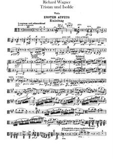 Vollständiger Oper: Violastimme by Richard Wagner