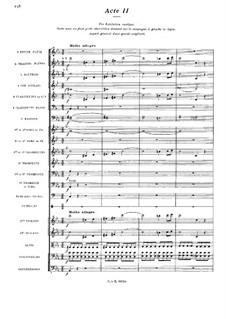 Vorfahr: Akt II by Camille Saint-Saëns