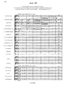 Vorfahr: Akt III by Camille Saint-Saëns