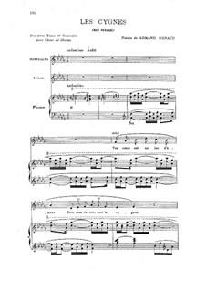 Persische Nacht, Op.26bis: Les cygnes by Camille Saint-Saëns