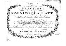 Suite de leçons. Six Lessons for Harpsichord (or Piano): Suite de leçons. Six Lessons for Harpsichord (or Piano) by Domenico Scarlatti