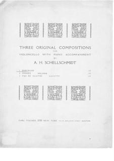 Wiegenlied für Cello und Klavier: Wiegenlied für Cello und Klavier by A.H. Schellschmidt
