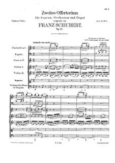 Salve Regina, D.223: Salve regina by Franz Schubert