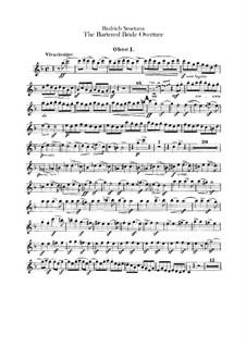 Vollständige Oper: Ouvertüre – Oboenstimmen by Bedřich Smetana