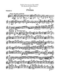 Drei Tänze: Violinstimmen I by Bedřich Smetana