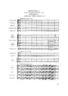 Vollständige Oper: Akt I by Bedřich Smetana