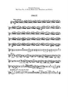 Aus Böhmens Hain und Flur, T.114: Oboenstimmen by Bedřich Smetana