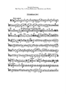 Aus Böhmens Hain und Flur, T.114: Posaunen- und Tubastimmen by Bedřich Smetana