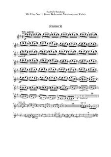 Aus Böhmens Hain und Flur, T.114: Violinstimme I by Bedřich Smetana