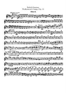 Wallensteins Lager, B.111 T.79 Op.14: Oboenstimmen by Bedřich Smetana