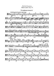 Hakon Jarl, B.118 T.82 Op.16: Posaunen- und Tubastimmen by Bedřich Smetana