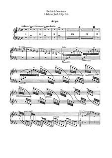 Hakon Jarl, B.118 T.82 Op.16: Harfenstimme by Bedřich Smetana
