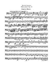 Hakon Jarl, B.118 T.82 Op.16: Kontrabass-Stimme by Bedřich Smetana