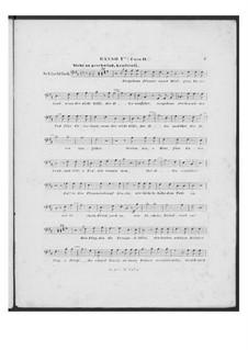 Schlachtlied für doppelten Männerchor und Klavier (oder Harmonium), D.912 Op.151: Bassstimme I (Chor II) by Franz Schubert