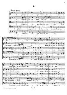 Italian Madrigals, Op.1: No.1 O primavera, SWV 001 by Heinrich Schütz