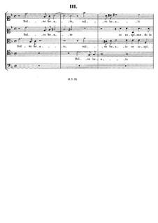 Italian Madrigals, Op.1: No.3 Selve beate, SWV 003 by Heinrich Schütz