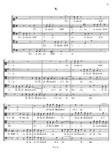 Italian Madrigals, Op.1: No.5 Così morir debb'io, SWV 005 by Heinrich Schütz