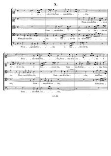 Italian Madrigals, Op.1: No.10 Flamma ch'allacia, SWV 010 by Heinrich Schütz